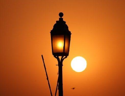 evening in delhi